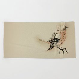 Passerine C Beach Towel