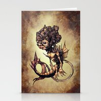 seahorse Stationery Cards featuring SEAHORSE by Tim Shumate