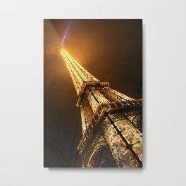 Ville des Lumières 2 Metal Print