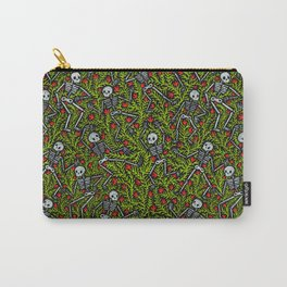 Dancing Skeletons Pattern Carry-All Pouch