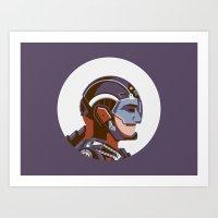 Headgear: ATOM Art Print