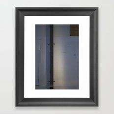 Backwall; Austin, TX Framed Art Print