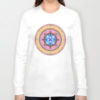 spires Long Sleeve T-shirts featuring Castle Spires, kaleidoscope by designoMatt