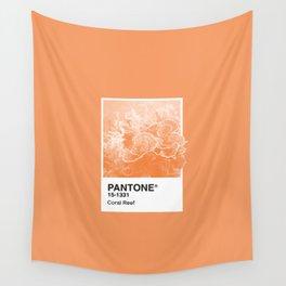 Pantone Series – Coral Reef Wall Tapestry