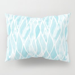 Sand Flow Pattern - Light Blue Pillow Sham