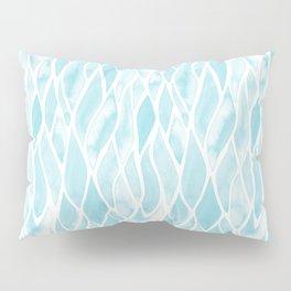 Sand Flow Pattern - Light Blue Pillow Sham