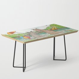 Pool Party Coffee Table