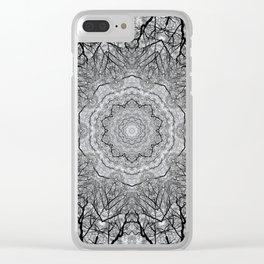 Zen Tree 1 Clear iPhone Case