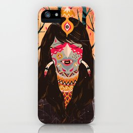 The Tree Witch iPhone Case
