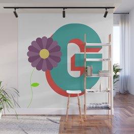 Letter G Wall Mural