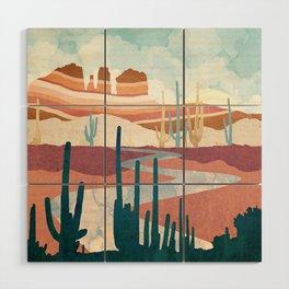 Desert Vista Wood Wall Art