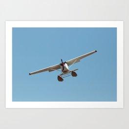 Floatplane Coming In Art Print