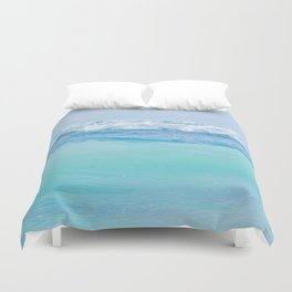 Kapukaulua Pure Blue Surf Duvet Cover
