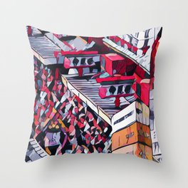 Abstract 50 #1 Throw Pillow