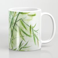 bamboo Mugs featuring Bamboo by rchaem