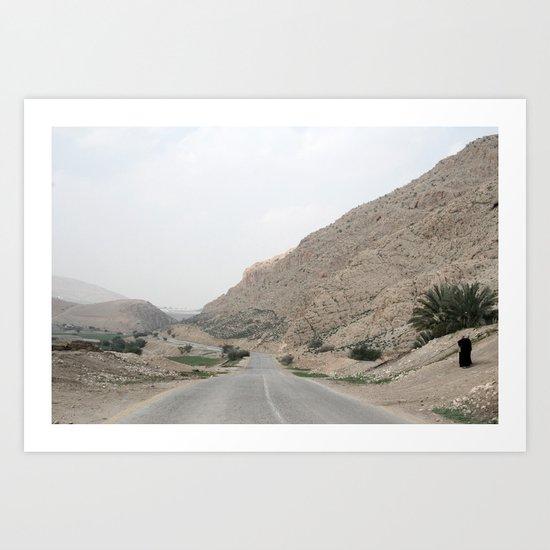 Jordan Valley Palestine Art Print