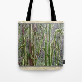 YOUNG RAINFOREST VINE MAPLES Tote Bag