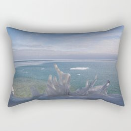 Cave Point Icicle Tree Rectangular Pillow