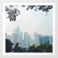 singapore Art Prints featuring singapore by MUSTARD TIGHTS PHOTOGRAPHY