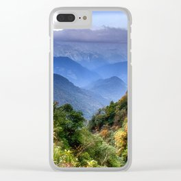 The Himalayas of Bhutan Clear iPhone Case