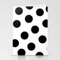 polka dot Stationery Cards featuring Polka Dot by JiaMiin Berglund