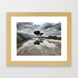 Potrero Creek Framed Art Print