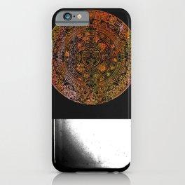 Mayan Calendar Rainbow Sorbet iPhone Case