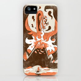 "The ""Dwarf"" & Dragon iPhone Case"