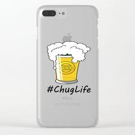 #ChugLife Beer Mug Clear iPhone Case