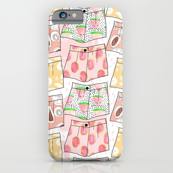 Fruity Pants Pattern iPhone & iPod Case