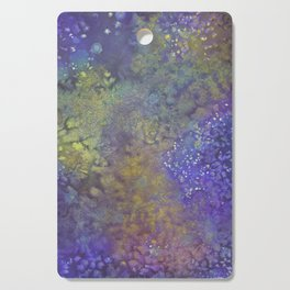 Abstract Watercolor #3 Cutting Board