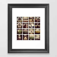 Instadeck South England Framed Art Print