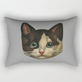 Rescue The Cat Rectangular Pillow