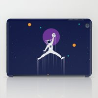 nba iPad Cases featuring NBA Space by Tony Vazquez