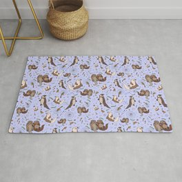 Sea Otters Rug