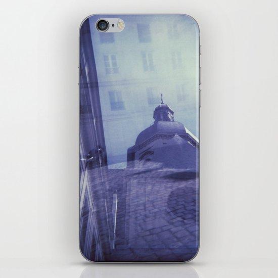 Holga Double Exposure: Eglise Saint-Paul-Saint-Louis, Paris  iPhone & iPod Skin