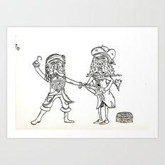 A Pirates Life Art Print