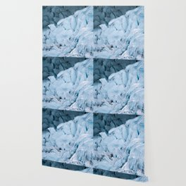 Blue Glacier in Norway - Landscape Photography Wallpaper