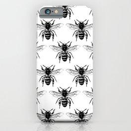 The Bee's Knees Black iPhone Case