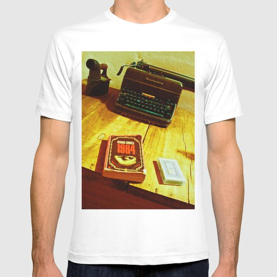 BOOK, CARDS AND MACHINE T-shirt