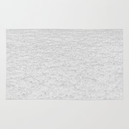 Snow Texture // Snowy Powder Close up Winter Field Ski Vibes Landscape Photography Rug