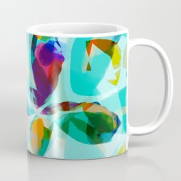 AquaFloral Coffee Mug