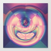 apple Canvas Prints featuring Apple by Truly Juel