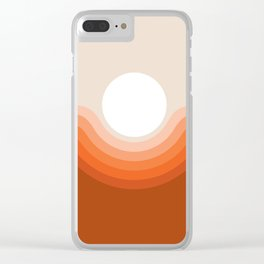 Red Rock Canyon Clear iPhone Case