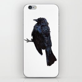 Watercolor and Pen Bird iPhone Skin