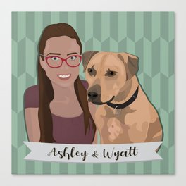 Ashley and Wyatt Canvas Print