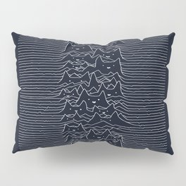 Furr Division Cats (Dark Blue) Pillow Sham