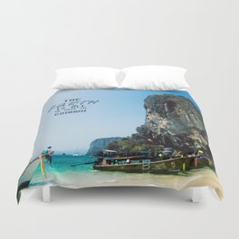 The Earth is all we have in Common Duvet Cover