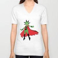 lydia martin V-neck T-shirts featuring Lydia by JHTY