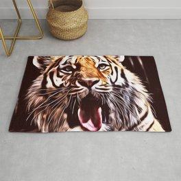 Painted Tiger 9 Rug